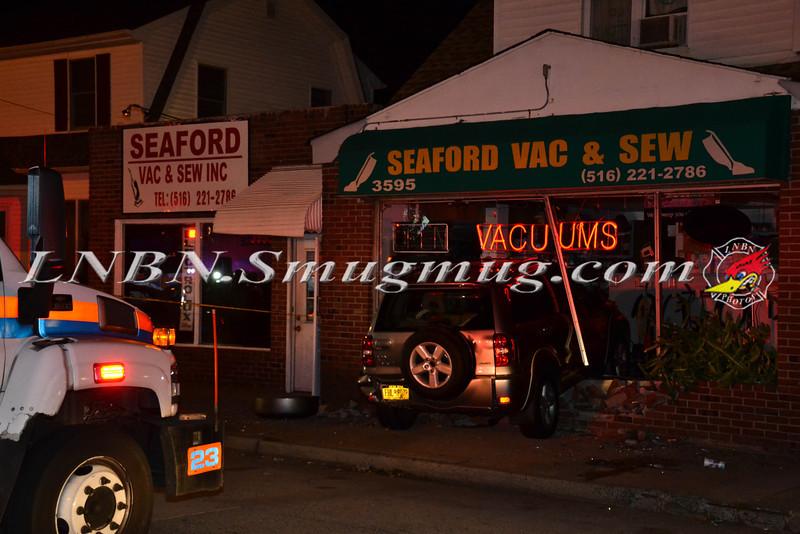 Wantagh F D  Car Into Building 3595 Merrick Road 9-5-2013-11