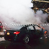 Wantagh F D Car fire Cornelius Avevnue & Wilson  Avenue 2-15-14-8
