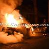 Wantagh F D Car fire Cornelius Avevnue & Wilson  Avenue 2-15-14-1