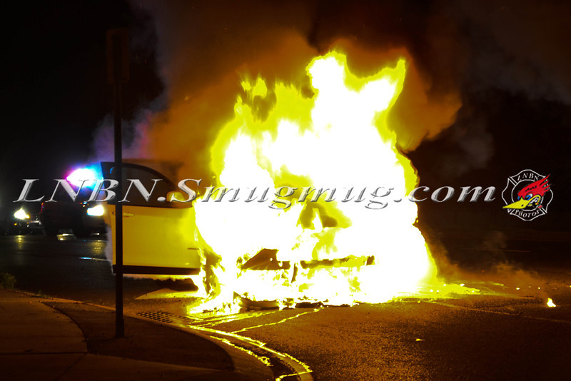 Wantagh F D  Car fire E-B Sunrise Highway c-s Brookside Avenue 11-5-2013-
