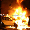 Wantagh F D  Car fire E-B Sunrise Highway c-s Brookside Avenue 11-5-2013--3