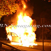 Wantagh F D  Car fire E-B Sunrise Highway c-s Brookside Avenue 11-5-2013--4