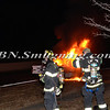Wantagh F D Car fire NB wantagh pkwy No SS Pkwy 1-13-14-11