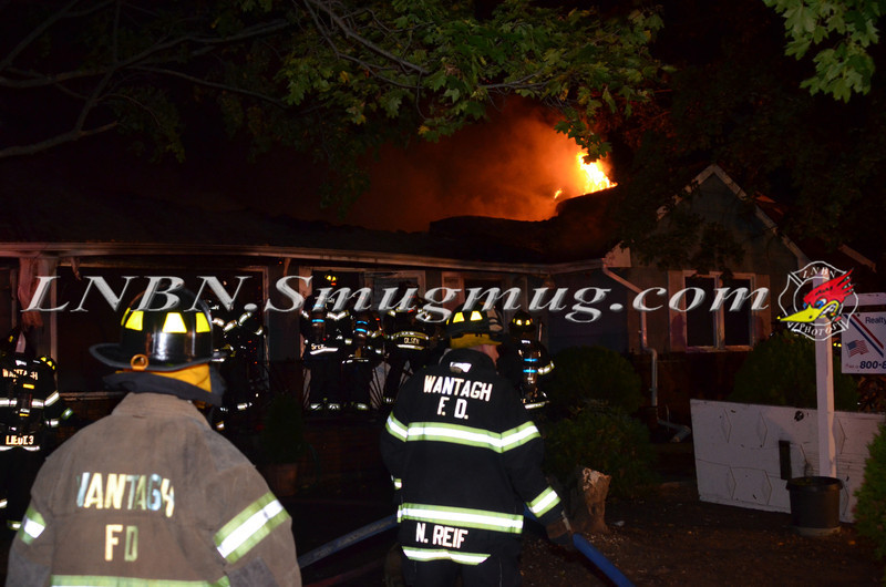 Wantagh F D  House Fire 801 Oakfield Ave 10-15-12-1