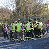 Wantagh F D  MCI Drill- LIRR Train Derailment  11-12-11-3