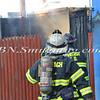 Wantagh F D  Storage Shed Fire LI Cheeseburger  2-8-12-15