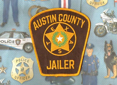 Wanted Texas A County Patches