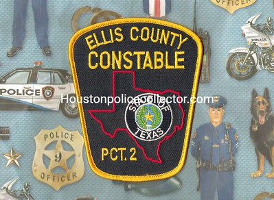 Wanted Texas E County Patches
