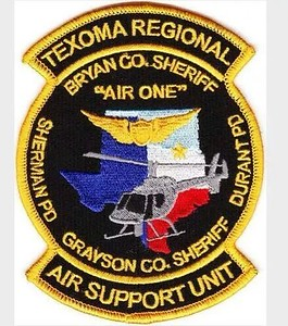 Wanted Texas G County Patches