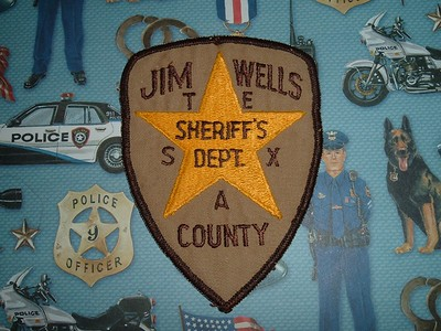 Wanted Texas J County Patches