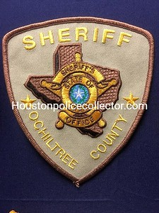 Wanted Texas O County Patches