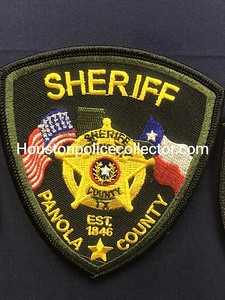 Wanted Texas P County Patches