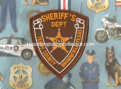 Wanted Texas T County Patches
