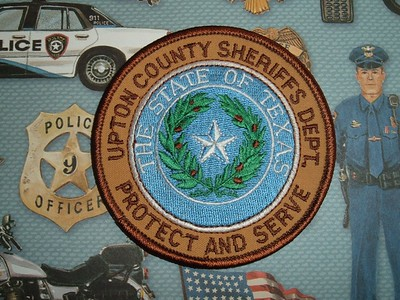 Wanted Texas U County Patches