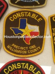 Wanted Texas W County Patches