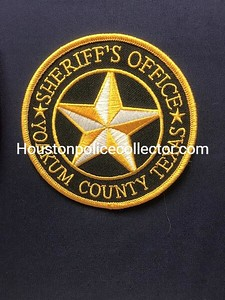 Wanted Texas Y County Patches