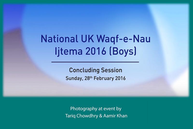 Head of Ahmadiyya Muslim Community addresses male youth event (Waqfe-Nau Ijtema) in London
