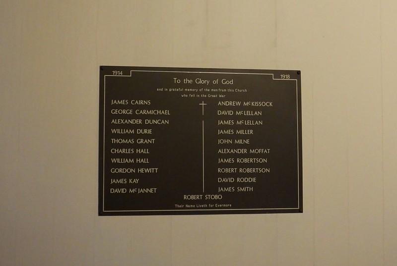 Ayr - Ayr Auld Kirk parishioners WW1 - Archive