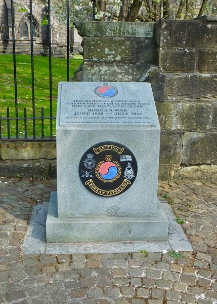 Korean War - Glasgow
