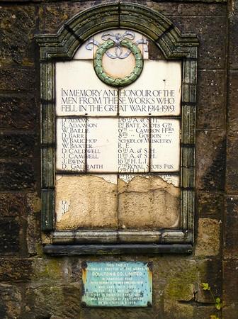 Paisley - Doulton Works WW1