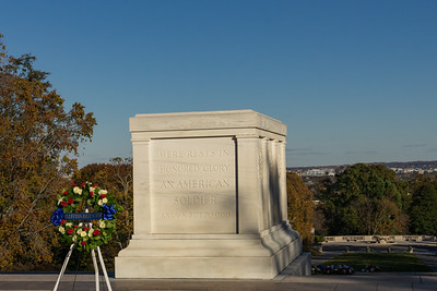 Tomb of the Unknown Soldier Arlington at National Cemetery
