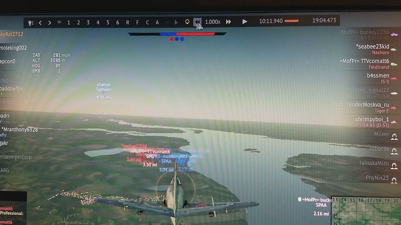 5 of 6, and the plane has 3 - 500 pounders, I think, not 2 - 1,000 pounders