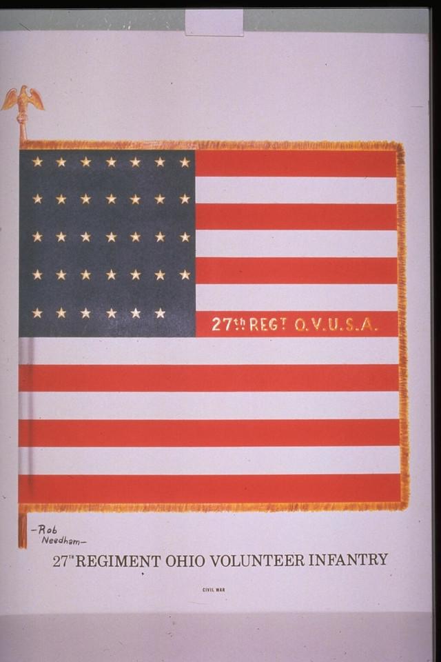 27th OVI Battle Flag-1