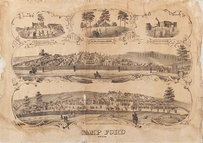 Camp Ford Lithograph (original)