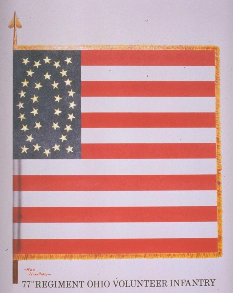 77th Battle Flag