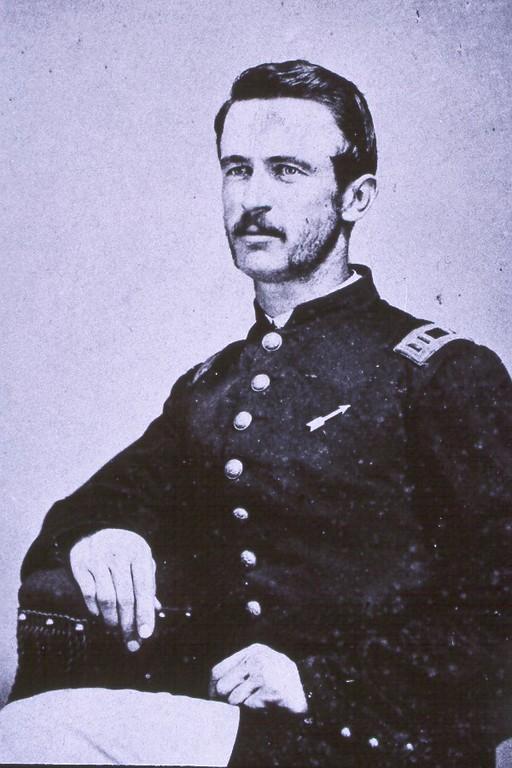 Capt. Cyrus M. Roberts, Co. E (78th OVI)-1