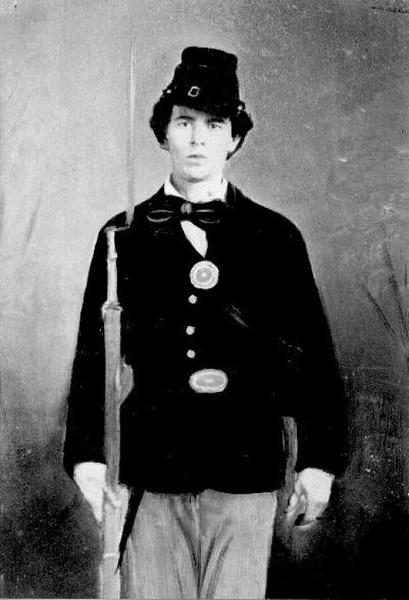 Pvt. Chester M. Fuller, Co E (78th OVI)