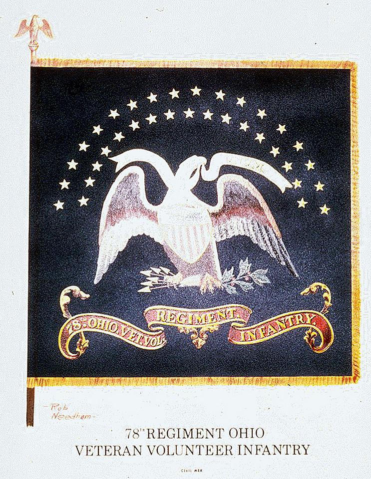 78th Regimental Flag 2-1