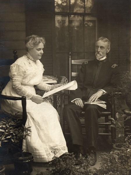 HA_McDonald & Wife (circa 1905)