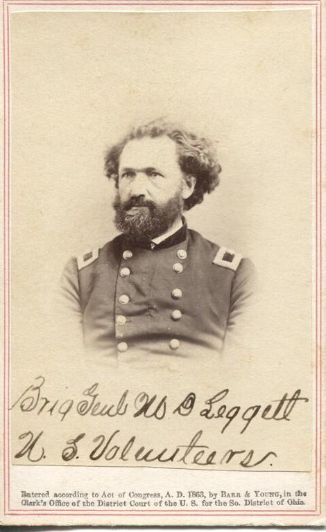 Brig. Gen. Mortimer Leggett., U.S. Volunteers