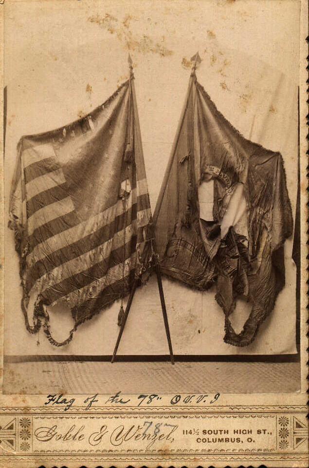 78th Flag Card (Vernon) Color-1