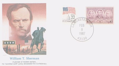 Sherman Post Card