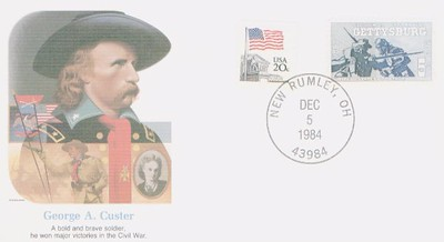 Custer Post Card