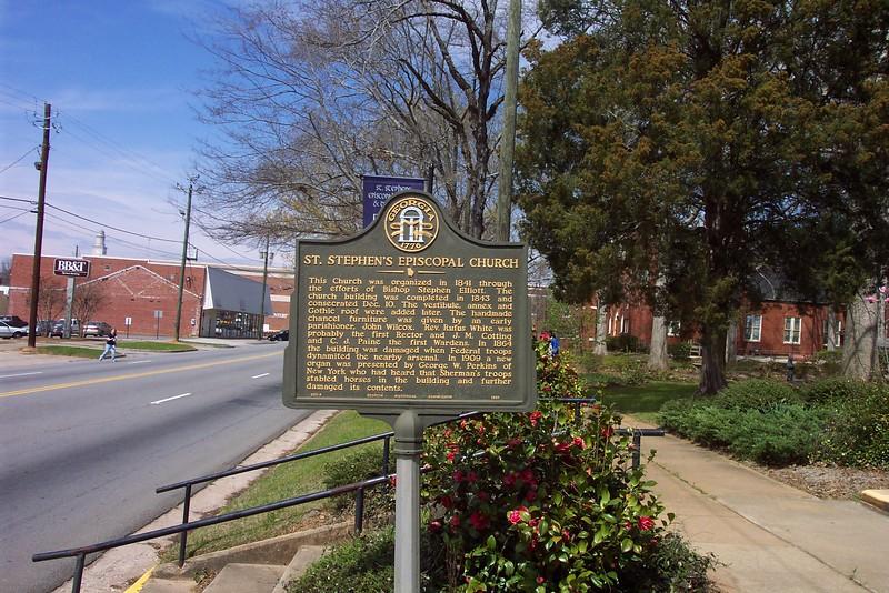 Milledgeville (Episcopal Church Sign)