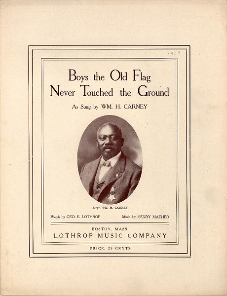 Old Flag Sheet Music 1
