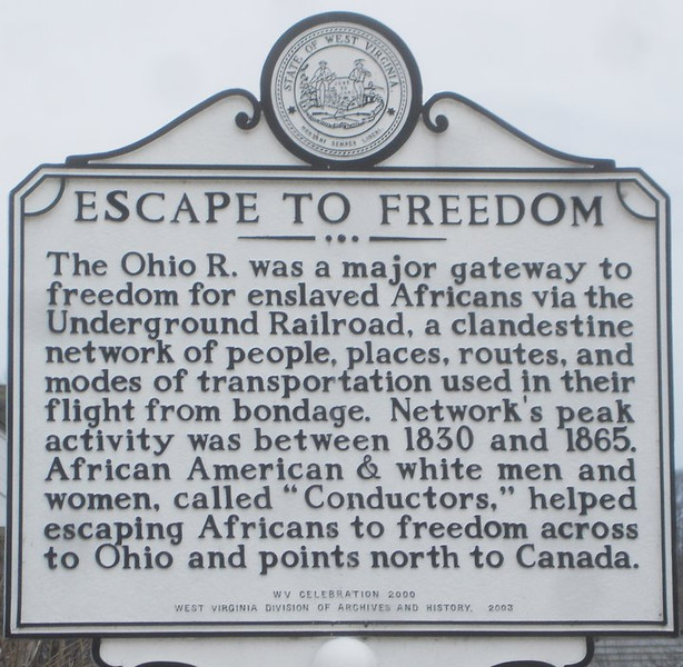 Escape to Freedom Marker (WV)