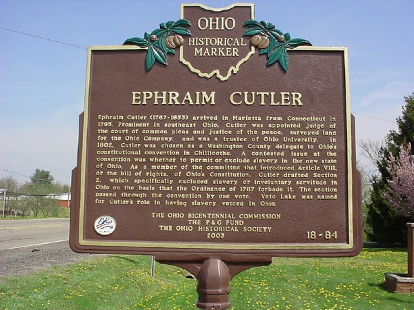 Ephraim Cutler Marker