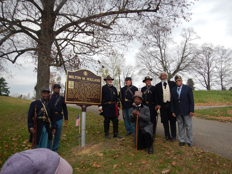 Holland Marker Dedication 011