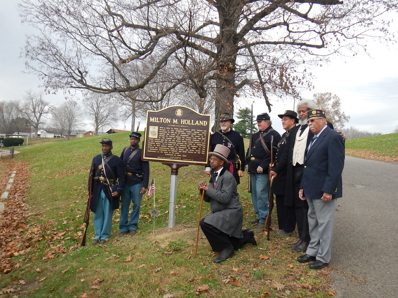 Holland Marker Dedication 013