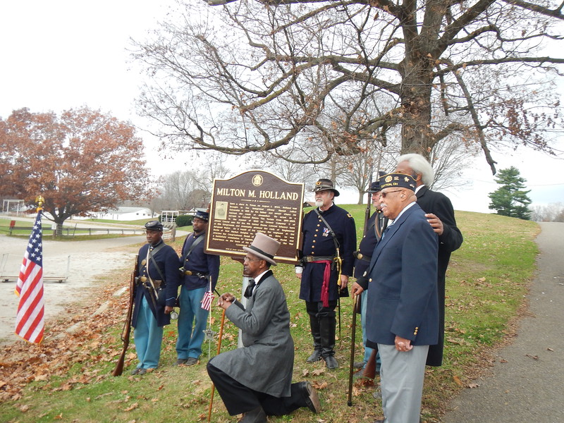 Holland Marker Dedication 014