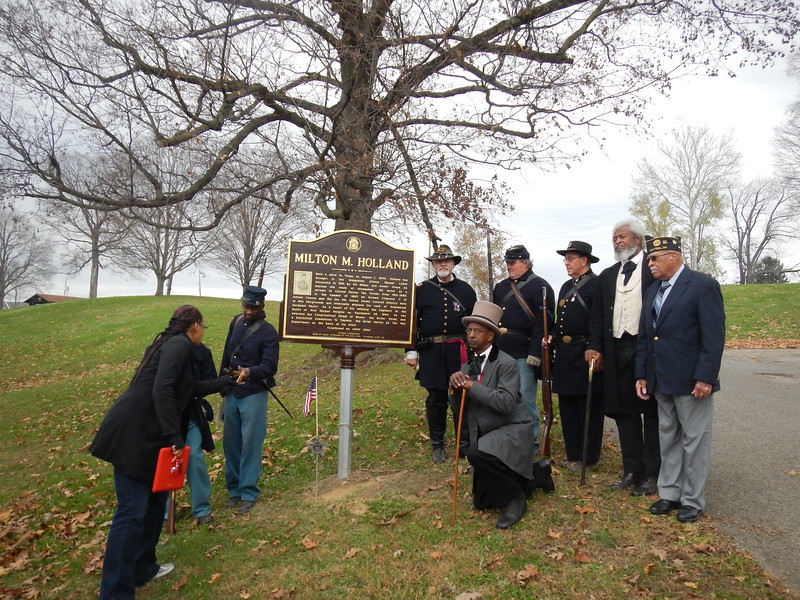 Holland Marker Dedication 012