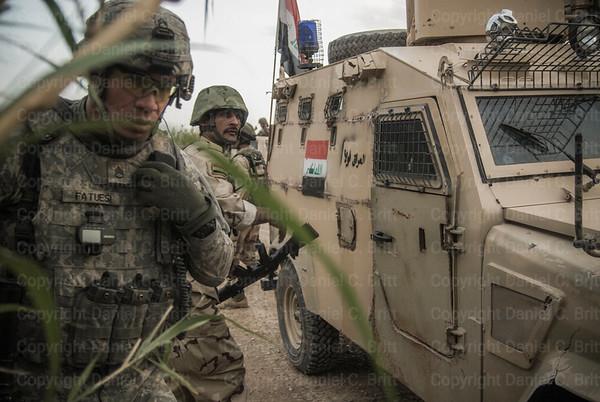 US Advisors Train Iraqi Soldiers