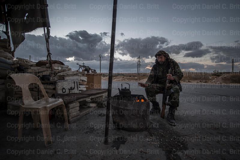 FSA Checkpoint, Marat al-Nouman