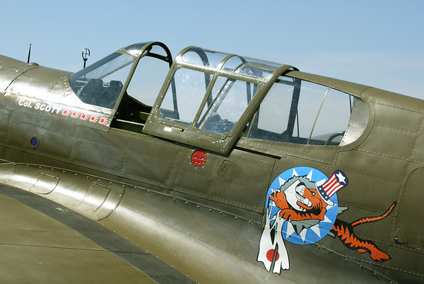 "P-40E Warhawk ""Flying Tiger"""