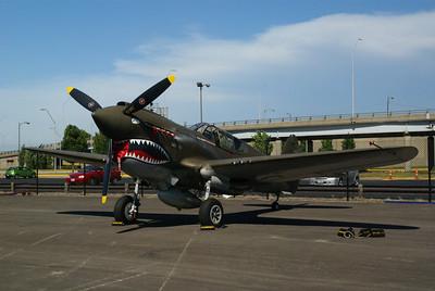 """P-40E Warhawk """"Flying Tiger"""""""