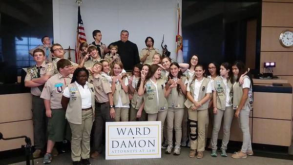 Ward Damon Law Scout Day